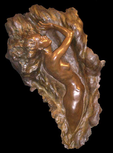 Ex Nihilo Figure 7 ( Full Scale) 2007 Bronze Sculpture 64 in