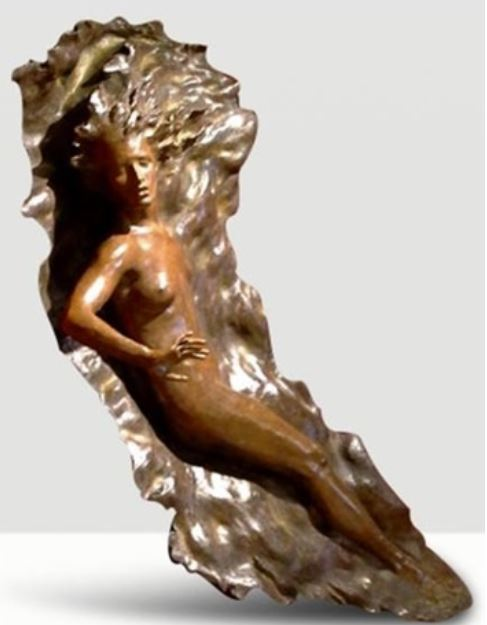 Ex Nihilo Figure 1 ( Full Scale) 2005 Life Size Bronze Sculpture 72 in