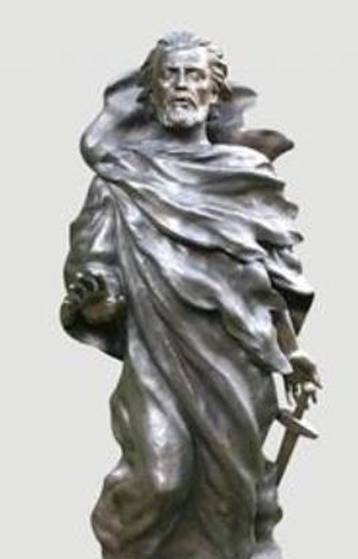 St. Paul Bronze Sculpture  2004 (Full Scale) AP 69 in