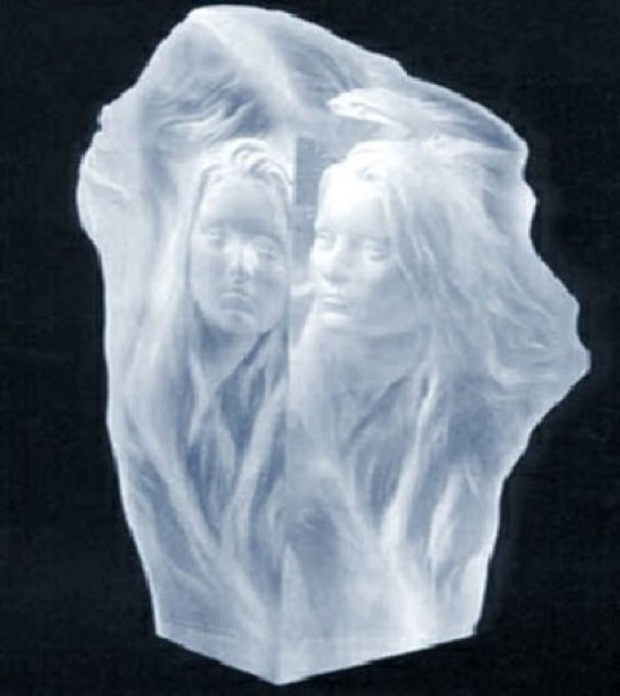 Reflections Acrylic Sculpture 1994 16 in