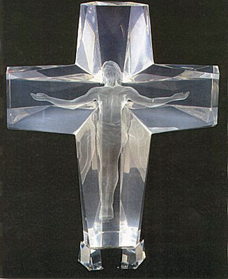 Cross of the Millennium Acrylic State I Sculpture 1995