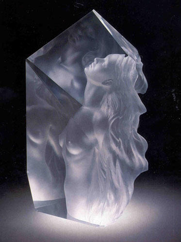 Exhaltation Acrylic Sculpture 1998