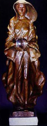 Source 1995 (1/2 Life Size) Bronze Sculpture