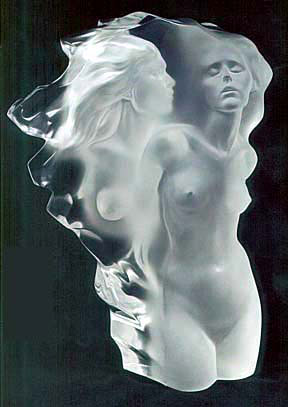 Visitation Acrylic Sculpture 1989