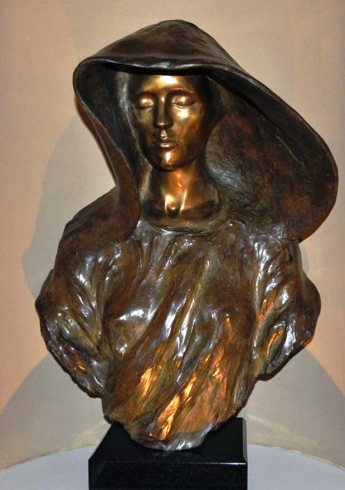 Source Bronze Bust Sculpture 2003