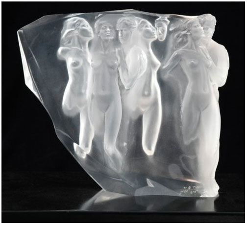 Gerontion Acrylic Sculpture 1982
