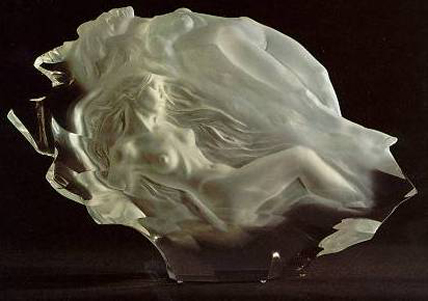 Dreamers Acrylic Sculpture AP 1993