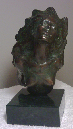 Firebird Bronze Sculpture 1987