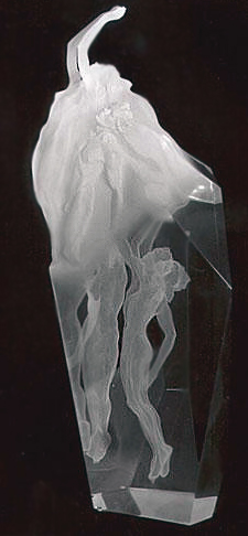 Spirit of Victory Acrylic Sculpture 1991