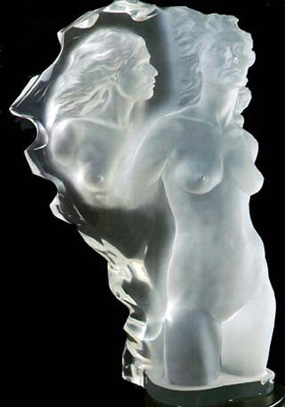 Grand Visitation Acrylic Sculpture