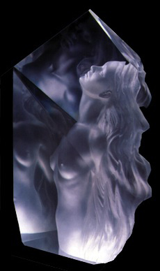 Exaltation Acrylic Sculpture 1998