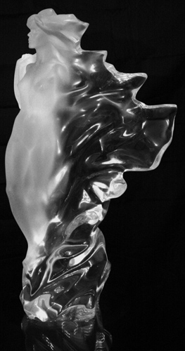 Veil of Light Acrylic Sculpture AP 1987