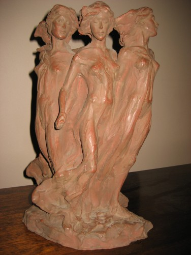 Daughters of Odessa Terracotta Sculpture 1993