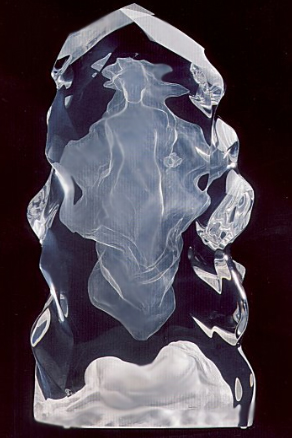 Echo of Silence Acrylic Sculpture 1992