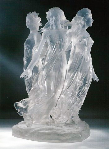 Songs of Grace Acrylic Sculpture 2005