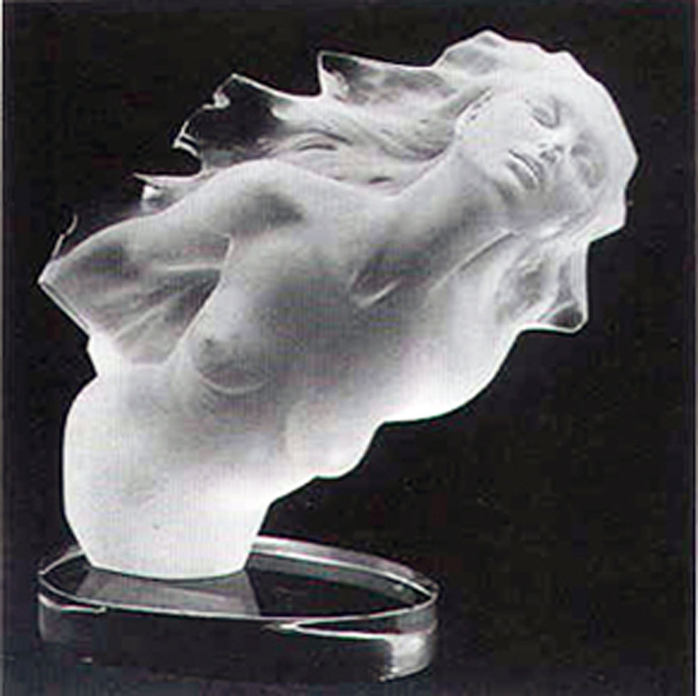 Firebird Acrylic Sculpture 1987