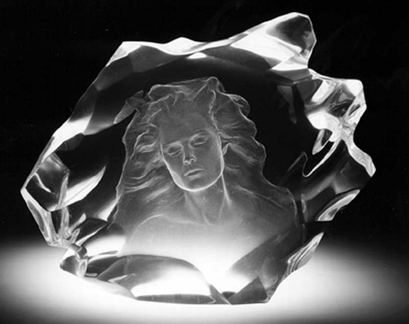 Illuminata I Acrylic Sculpture 1997