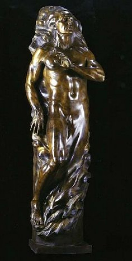 Adam Maquette Bronze Sculpture 15 in 2003