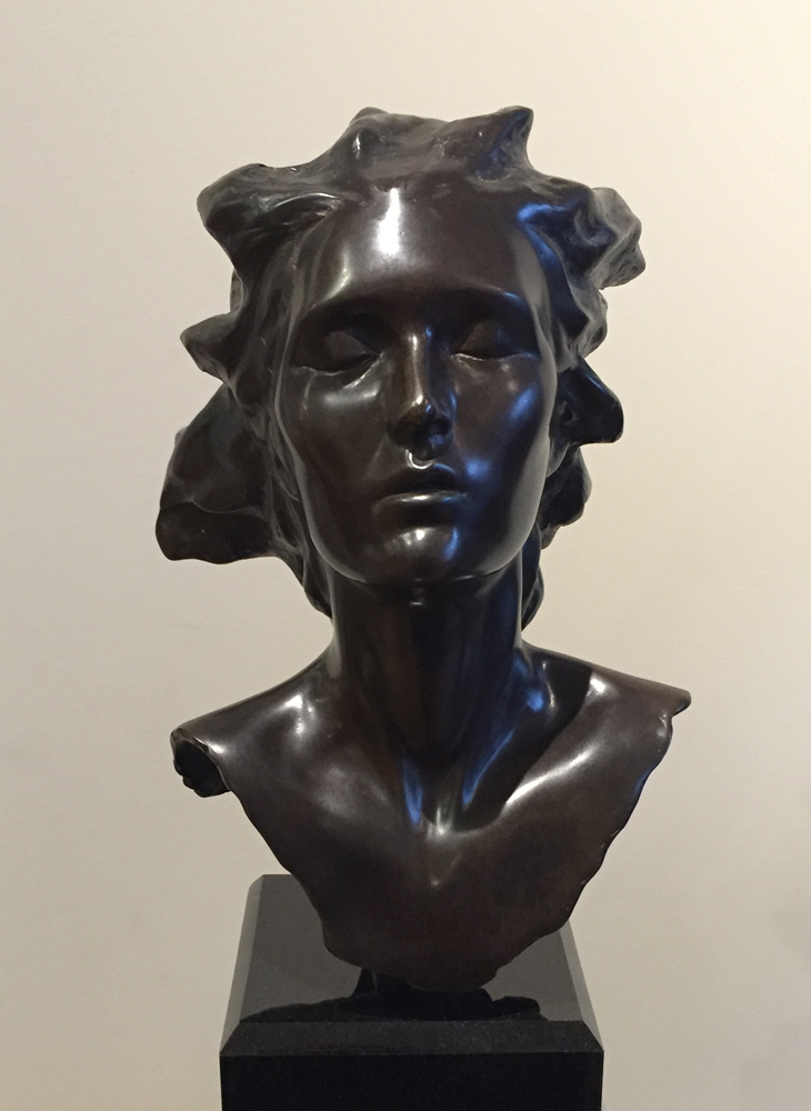 Head of Female, Celebration Bronze Sculpture 2014