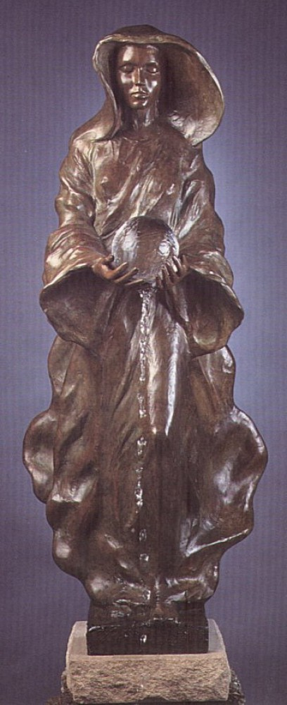 Source (1/2 Life Size) Bronze Sculpture 1995