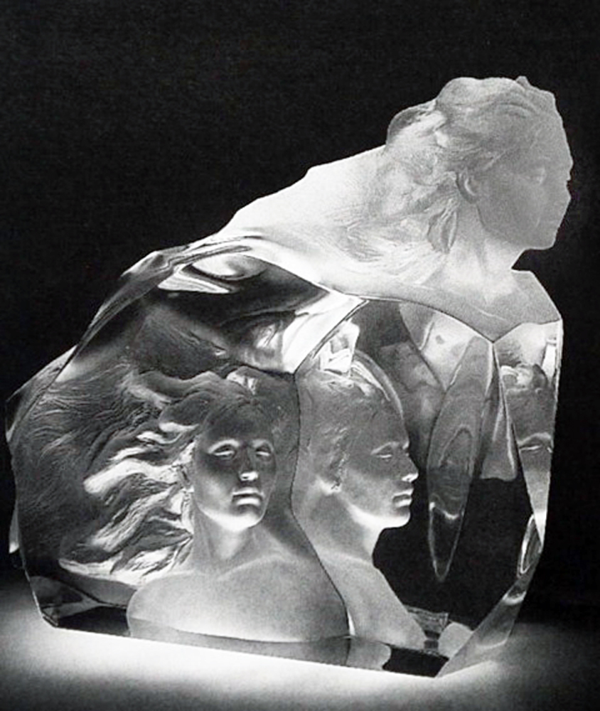 Destiny Acrylic Sculpture 1999