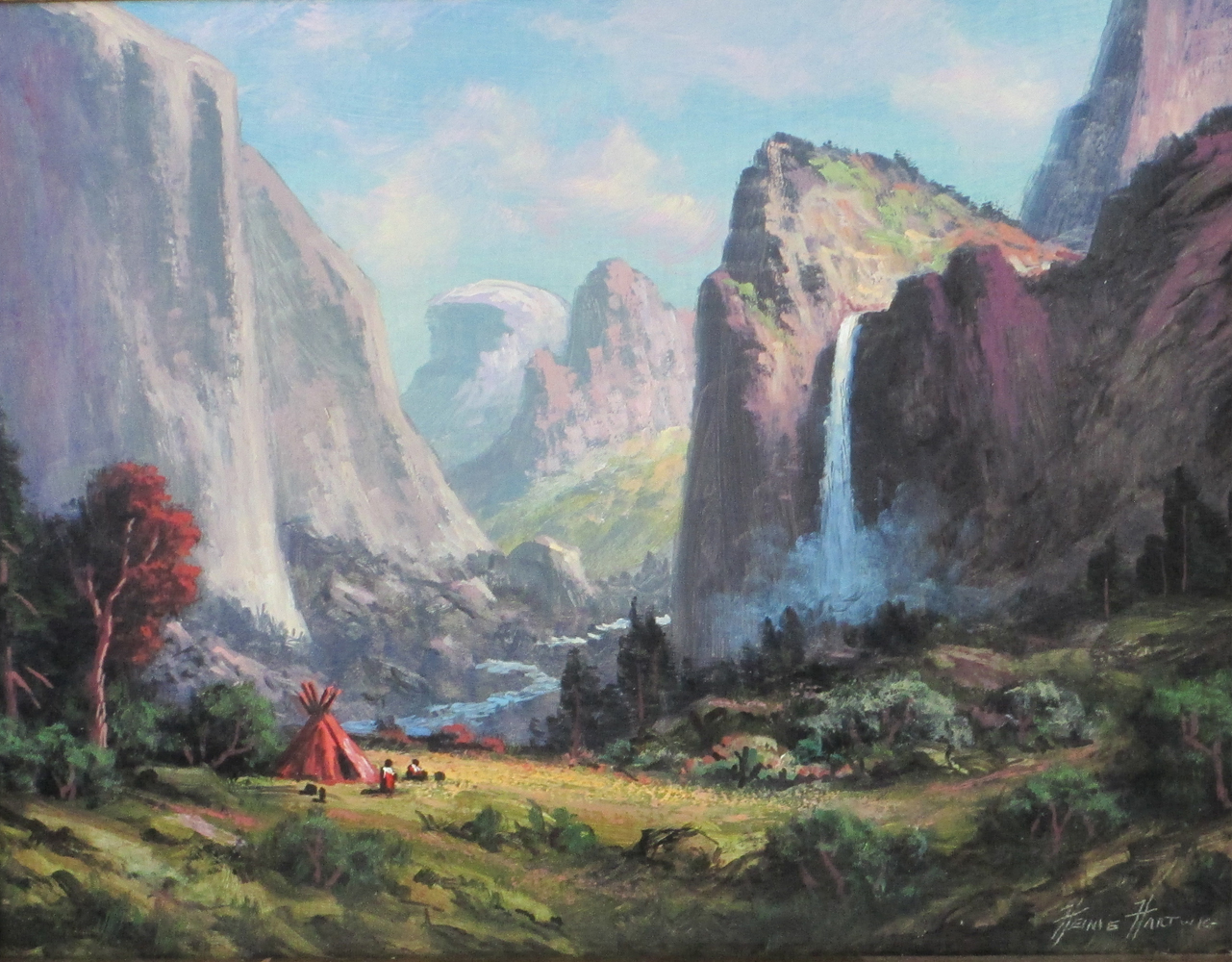 Bridal Vail Falls - Yosemite National Park 2015 53x43