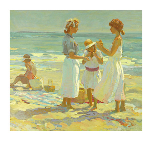 Picnic And Family Reunion, Suite of 2 Serigraphs