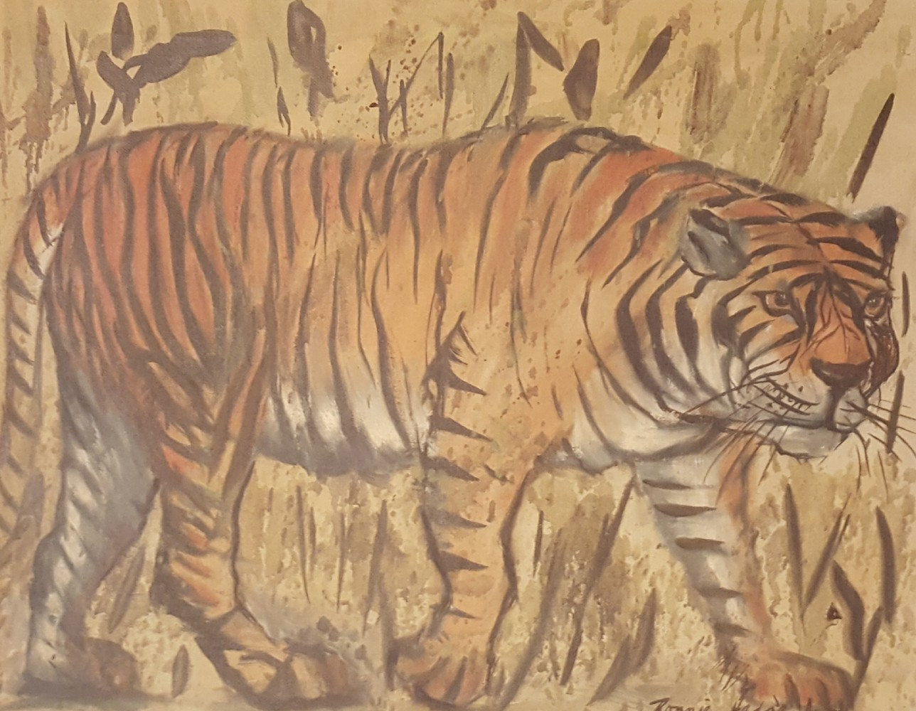 Untitled (Tiger) 1973 16x20