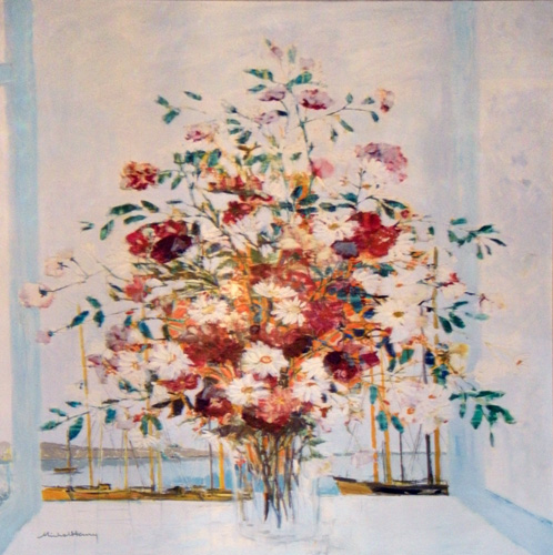 Untitled Floral Bouquet 1985 61x48