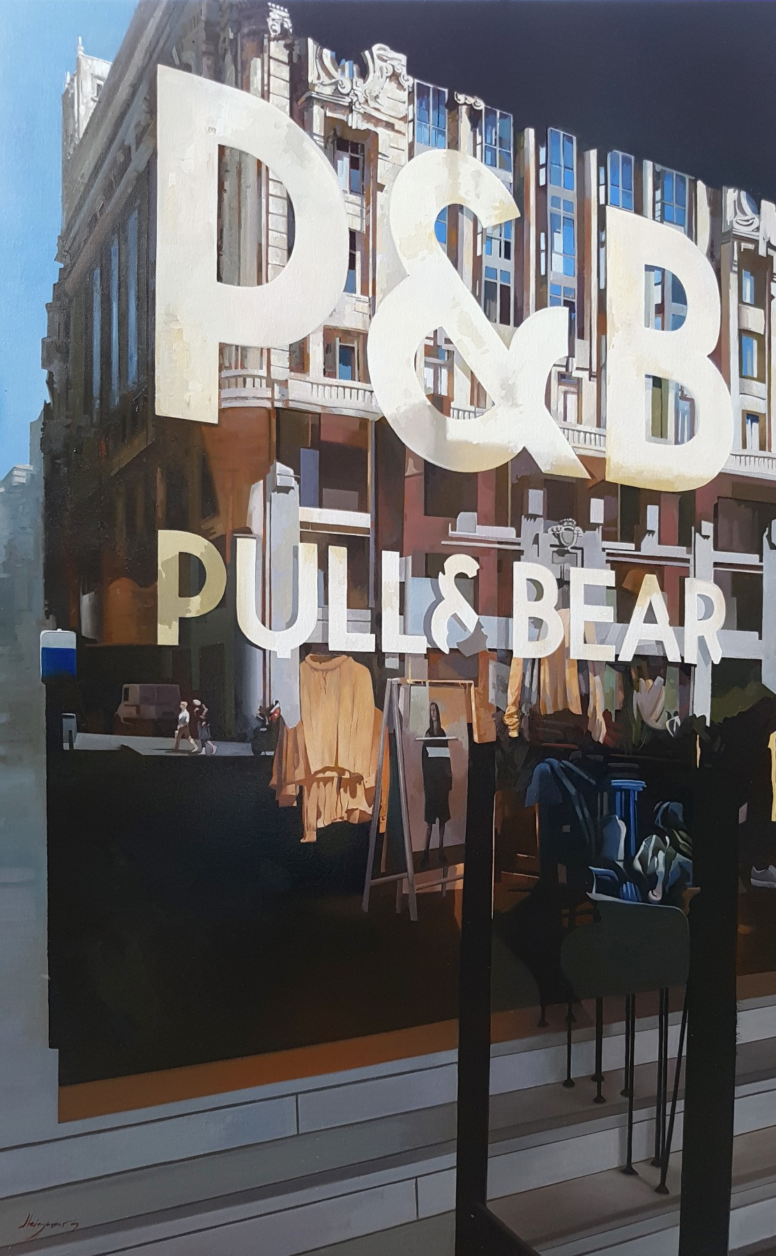 Pull and Bear Shopping 2018 47x31