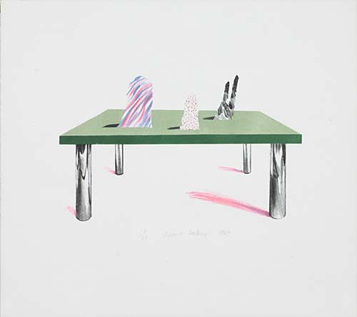 Glass Table with Objects 1969