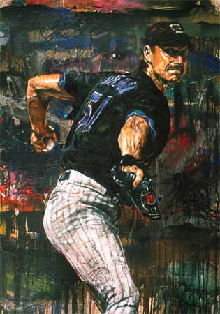Randy Johnson 2002 Embellished