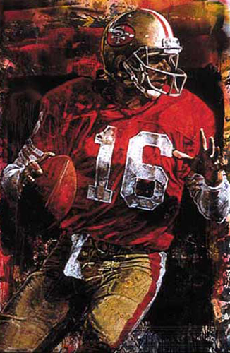 Joe Montana Embellished
