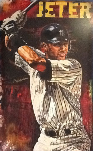 Hometown Hero (Derek Jeter) Baseball AP 1998