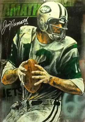 Joe Namath Embellished