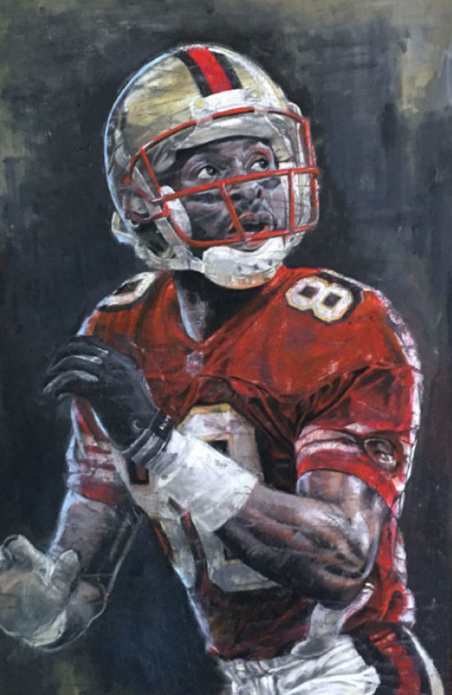 Jerry Rice 30x42