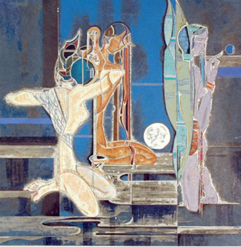 Full Moon And Water 1988