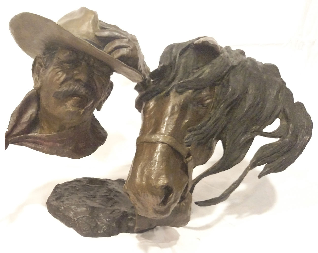 Headin Home Bronze Sculpture 26 in
