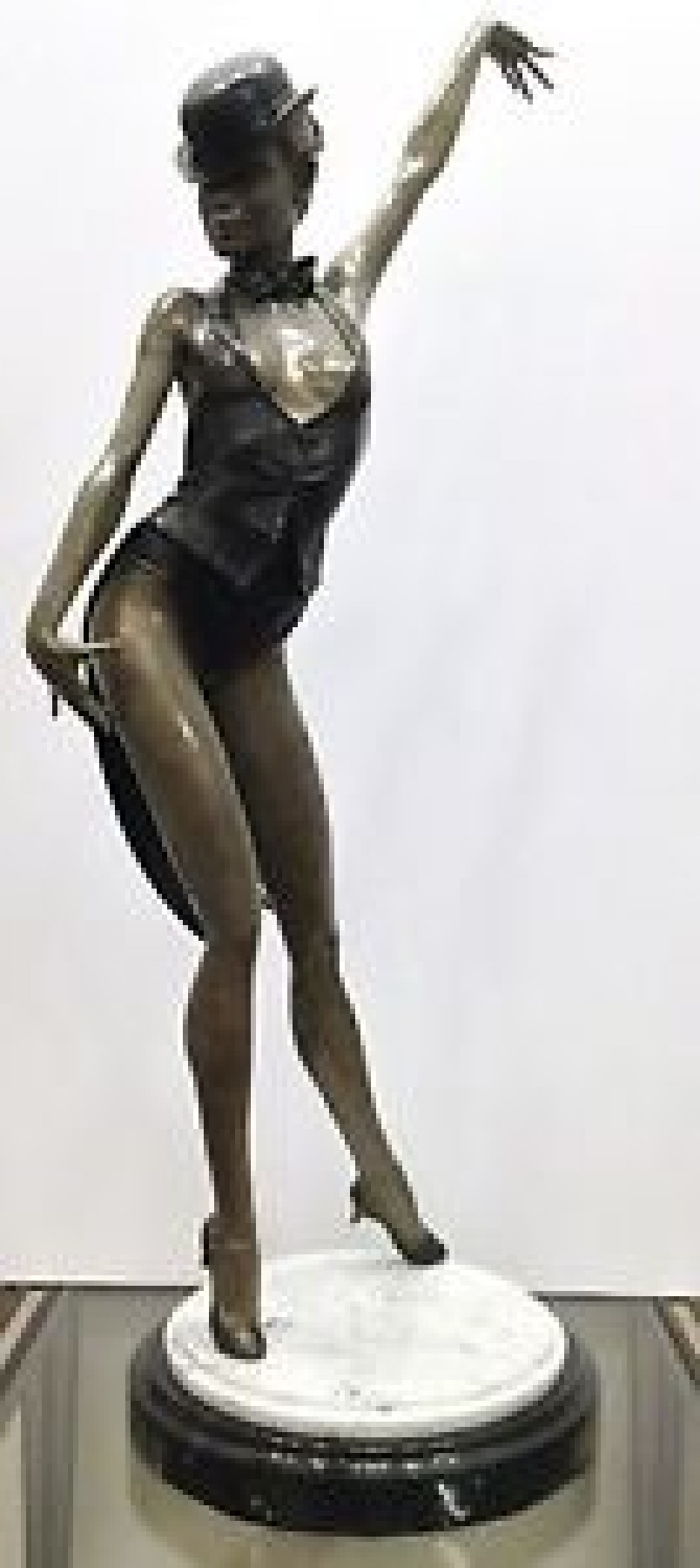 Razzmatazz Bronze Sculpture 2001 43 in