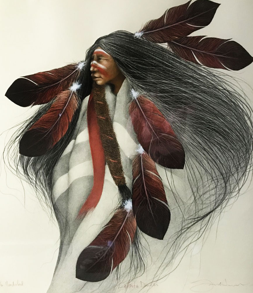 Lakota Dancer 1991