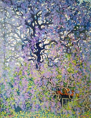 Wisteria 1990 by James Hoyle