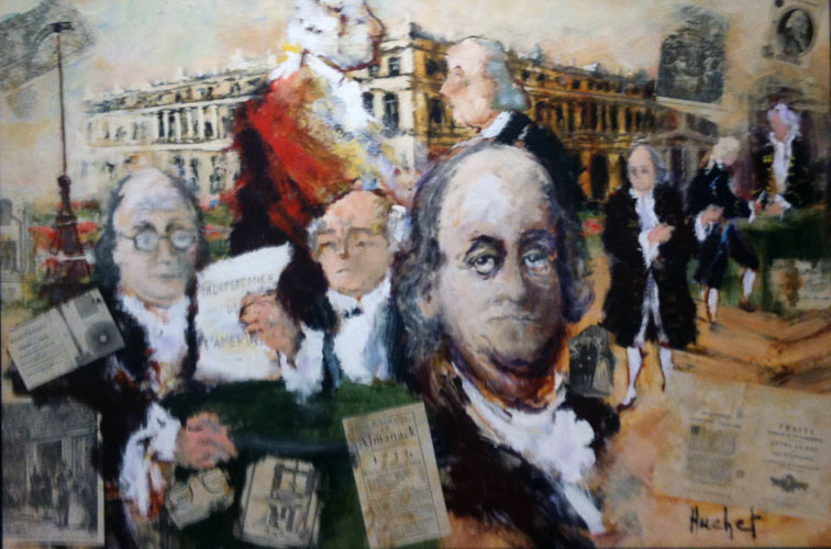 Homage to Benjamin Franklin 2000