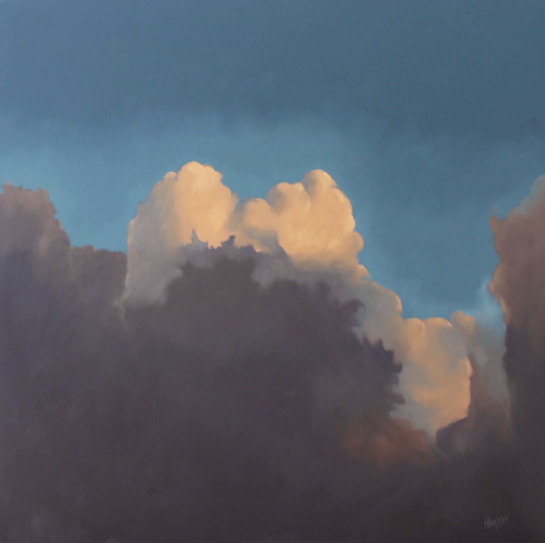 Ontario Clouds #1 36x36 by Hugh  Thompson
