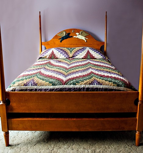 Untitled Maple Wood Bed 2008