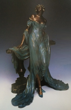 Werther Bronze Sculpture