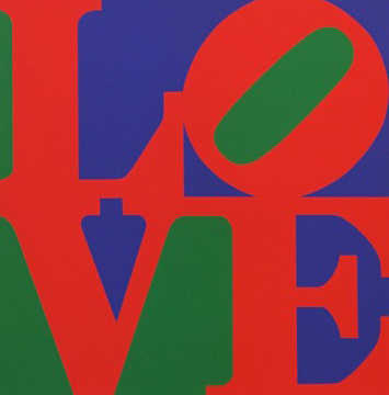 Love (Green Red Purple) 1996
