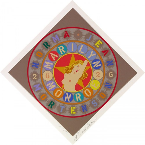 Metamorphosis of Norma Jean 1998 Marilyn Monroe by Robert Indiana