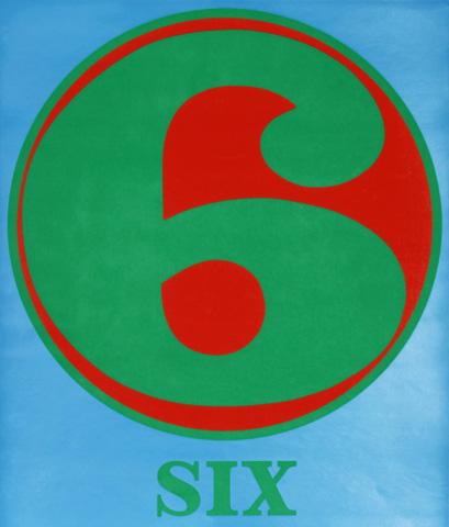Number 6 (Six) 1968 early work