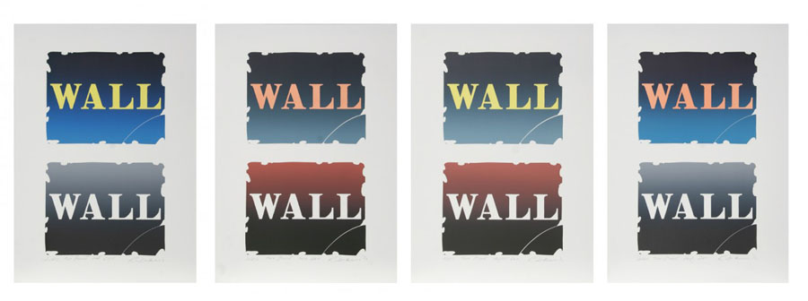 Wall: Two Stone Suite of 4 1990