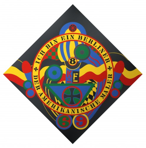 Hartley Elegies: Berlin Series, Kvf IX AP 1991 by Robert Indiana